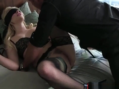Naughty Blonde Wife Cheats On Husband