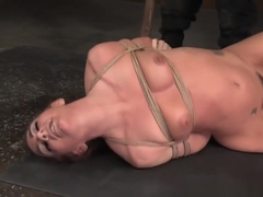 Bdsm Sub Tied Up By Black Maledom And Toyed