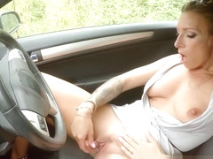 Horny Cougar Ava Austen Picks Up A Hitchhiker