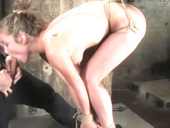 Lovely Jade Marxxx in real BDSM action