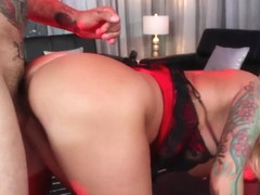 Lolly Ink & Sascha Ink in Blonde Tattooed Bimbo Lolly Ink Gets Boned Hard &  Scene #01 - AdultTime