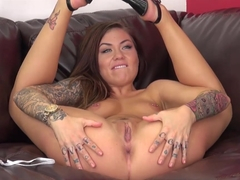 Best pornstar Karmen Karma in Exotic Tattoos, Redhead adult video
