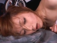 Kaede Fuyutsuki Hot Asian racequeen is lovely