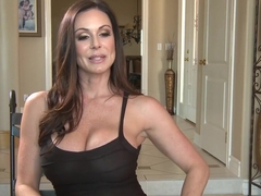 Exotic pornstar Kendra Lust in incredible lingerie, mature sex scene