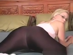 Brea Bennett - Blond With Bald Twat