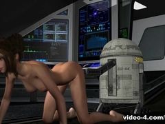 Star Whores: Princess Lay Her - 3DToonTube