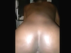 HOMEMADE Petite and tight black pussy stretched 2