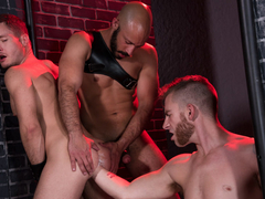 Sebastian Keys & Dylan Strokes & Ashley Ryder in Fistin Alley - ClubInfernoDungeon