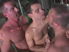 Exotic gay video with Daddy, Bukkake scenes