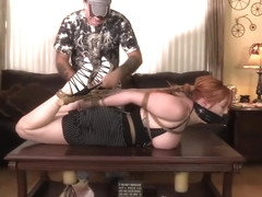 Lauren hogtied