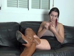 Ignored In Thigh High Leather Boots