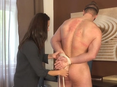Lucy Vojak & Filip Vacek in Pizzaman Tomas Decastro Is Taken To Task By His Customer. - KINK