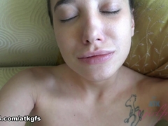 Gia Paige in Gia Is Ready To Ride Your Cock In Singapore - ATKGirlfriends