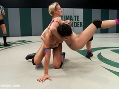 Two Ridiculously Hot Amazons Wage A Sex War On Our Mats - Publicdisgrace