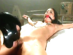Mr. Pete, Kara Price and Nikki Daniels in startling bdsm group sex video