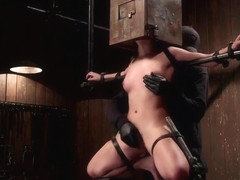 Fetching Liv Aguilera featuring hot BDSM video