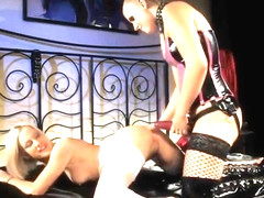 Blonde sex video featuring Teena Lipoldino and Brandy Smile