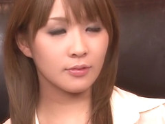 Hottest Japanese chick Rinka Aiuchi in Fabulous JAV uncensored Cumshots scene