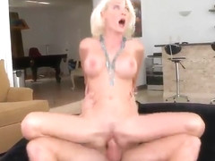 Beauty Kinzie Fox with hot boobies taking part in hardcore xxx video