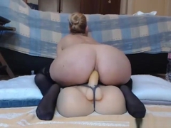 Blonde Princess Deep Toying Her Ass