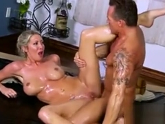 Shaved And Tattooed Lexi Lowe Gets Her Pussy Fucked