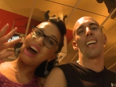 Crazy pornstar Julia De Lucia in Incredible Big Tits, Public adult video