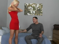 Fabulous pornstar in Horny Blowjob, Blonde xxx video