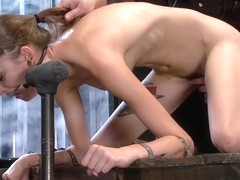 Good-looking Willow Hayes featuring real BDSM action