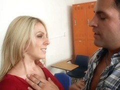 Angela Attison & Kris Slater in My First Sex Teacher