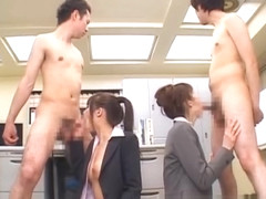 Junna Aoki and Erika Kirihara Hot part5
