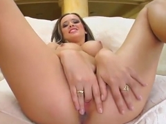 Enticing Klaudia Hot play with her lovehole