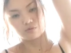 Sexy Oriental Woman Hitomi Aizawa Acquires Juicy