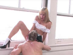 Crazy pornstar Blue Angel in Horny Big Cocks, Blonde adult video