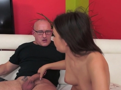 Incredible pornstar Anina Silk in Best Brunette, College sex video