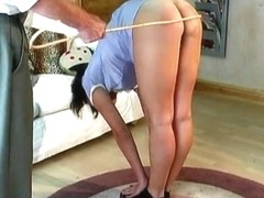 MF niece caning