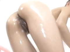 Sexy solo in the shower with busty Ryuu Narushima