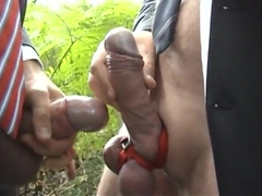 Horny gay scene with Outdoor, Sex scenes