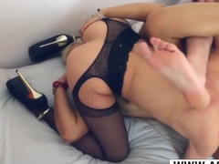 Busty Step Mommy Morgane Complicite Riding Cock Well Touching Friend