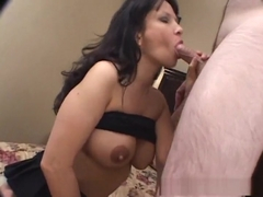Horny pornstar Carrie Ann in best lingerie, fishnet adult scene