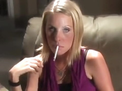 Amy sexy smoking dangling vs 120 1