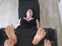 FrenchTickling - Mila Is Back & Her Super Ticklish Soles Met Veronique