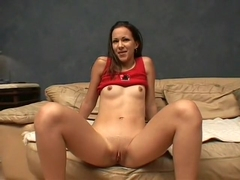 She fingers her pussy before he licks it and sucks his cock in a 69