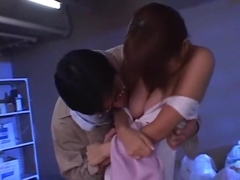 Fabulous Japanese girl Juri Matsuzaka in Exotic Couple, Blowjob JAV video