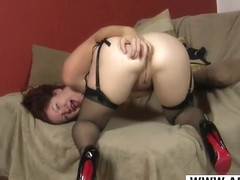 Nasty Mom Kimberlee Cline Gives Titjob Hot Tender Step Son