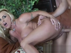 Holly Halston Fucks A Nice Dick Until It Spurts On Her Face