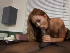 Beautiful Asian Woman Can't Get Enough Black Dick