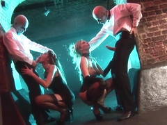 Emma Butt & Jordan Kingsley & Andy Mann & Tony De Sergio in The Filth And The Frenzy - KINK