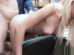 An angry banging for ponytailed czech blonde adimeo