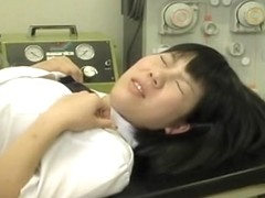 Japanese gal loved her pussy exam cause it involved sex toys