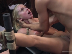 Christie Stevens  Xander Corvus in The Anal Audit - SexAndSubmission